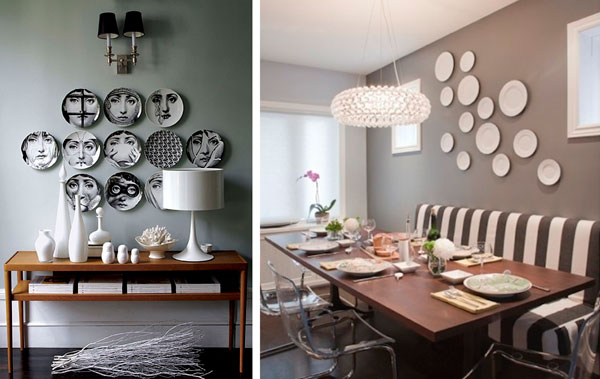 Decoraci n con platos de pl stico pictures to pin on pinterest - Platos de decoracion ...