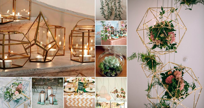 Tendencias 2017 para bodas dimeic for Tendencias decoracion 2017